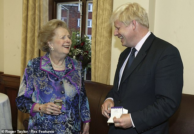 Margaret Thatcher, Boris Johnson and the elite