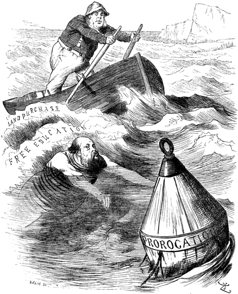 Cartoon published August 8th 1891 in Punch. Courtesy of Bing Images Creative Commons.